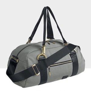 NWT Nike Beautility Gray Black Duffle Weekend Bag